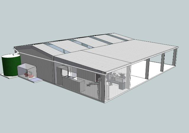 A review of free garage design software free building for Free building layout software