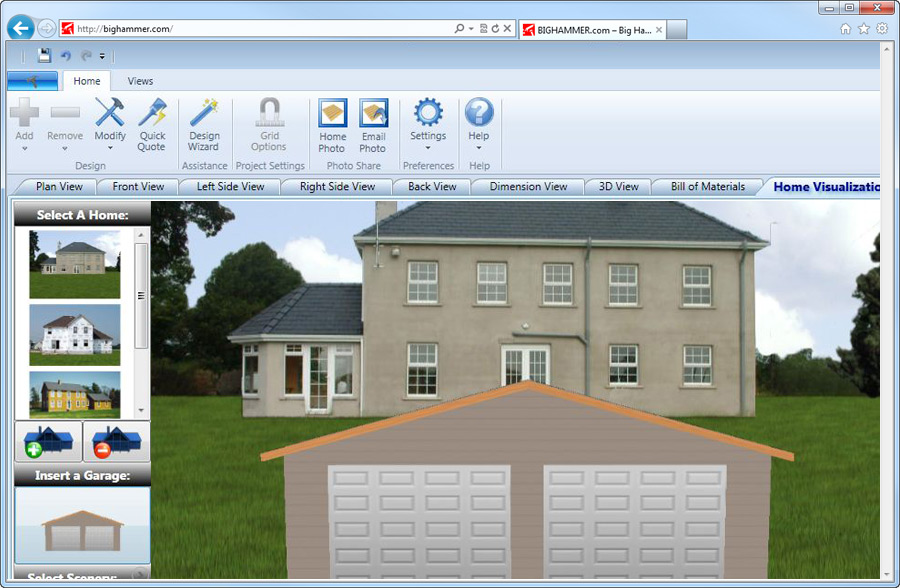 A review of free garage design software free building Online custom home builder
